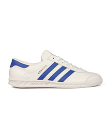 Adidas Originals Mens White Hamburg Trainer