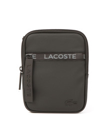 Lacoste Mens Black M Flat Crossover Bag