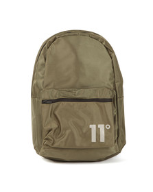 Eleven Degrees Mens Green Core Backpack