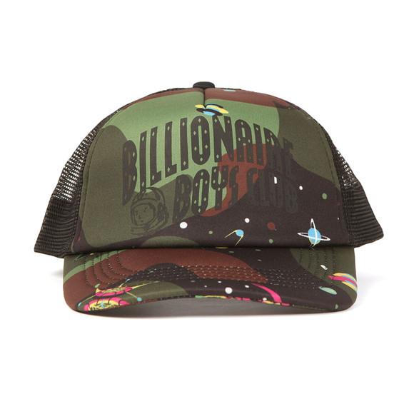 Billionaire Boys Club Mens Black Camo Arch Trucker Cap main image