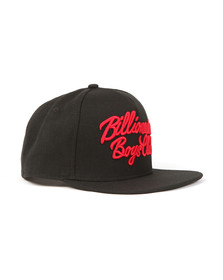 Billionaire Boys Club Mens Black Script Logo Snapback
