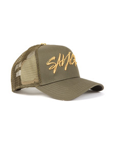 Twinzz Mens Green Savage Cap