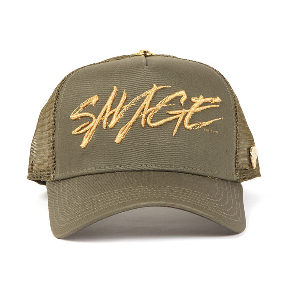 Twinzz Mens Green Savage Cap main image