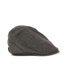 Ted Baker Mens Grey Wool Flat Cap