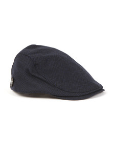 Ted Baker Mens Blue Wool Flat Cap