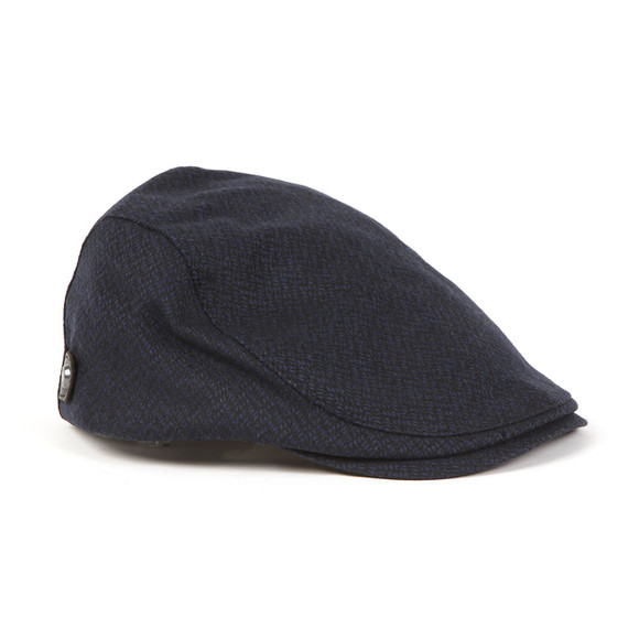 Ted Baker Mens Blue Wool Flat Cap main image