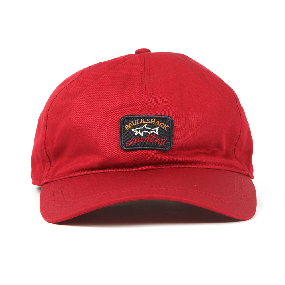 f4988d199ff ... Paul   Shark Mens Red Woven Logo Cap main image ...