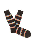 Multi Block Stripe Socks