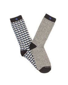 Scotch & Soda Mens Multicoloured Classic Sock With Pattern