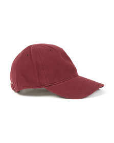 Fred Perry Mens Red Pique Classic Cap