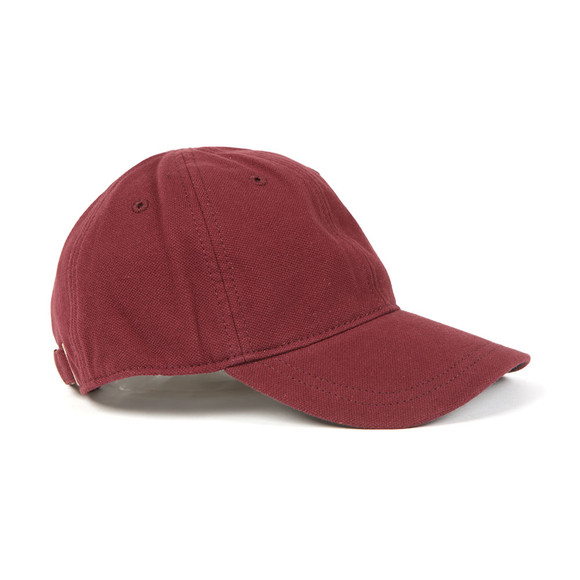 Fred Perry Mens Red Pique Classic Cap main image