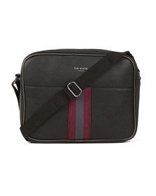 Ted Baker Mens Black Webbing Despatch Bag