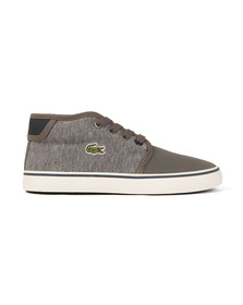 Lacoste Sport Boys Grey Ampthill 317 CAC Trainer