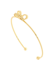 Ted Baker Womens Gold Olken Mini Opulent Bow Cuff