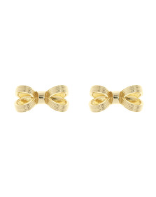 Ted Baker Womens Gold Olsi Mini Opulent Bow Earring