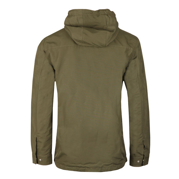 Farah Mens Green Lonsbury Zip Hooded Jacket main image