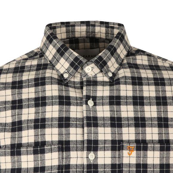 Farah Mens Blue L/S Coleville Check Shirt main image