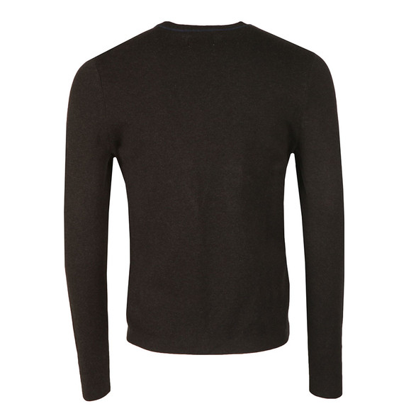 Farah Mens Black Orme Crew Neck Jumper main image