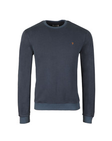 Farah Mens Blue Pickwell Sweat
