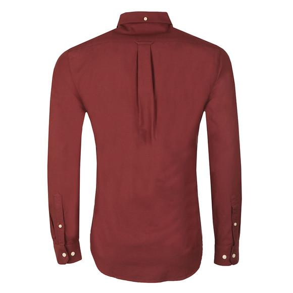Farah Mens Red Brewer Oxford Shirt main image