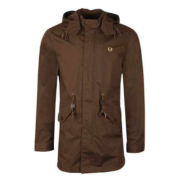 Fred Perry Mens Brown Fishtail Parka main image