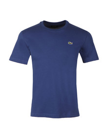 Lacoste Sport Mens Blue TH7618 Plain T-Shirt