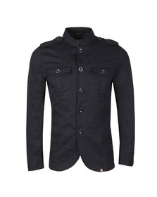 Pretty Green Mens Blue Langford Jacket