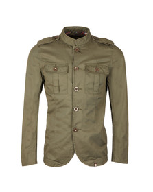 Pretty Green Mens Green Langford Jacket