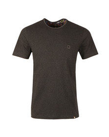 Pretty Green Mens Grey Summerbee Tee