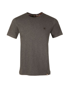 Pretty Green Mens Grey Cotton T-Shirt
