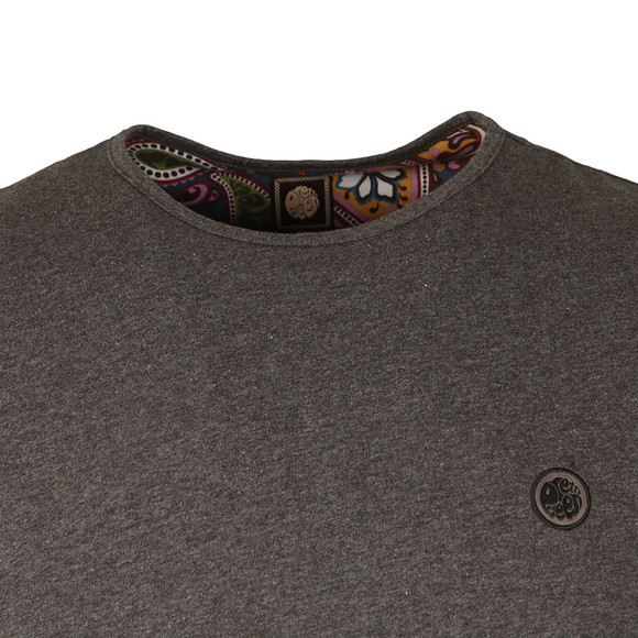 Pretty Green Mens Grey S/S Mitchell Tee main image
