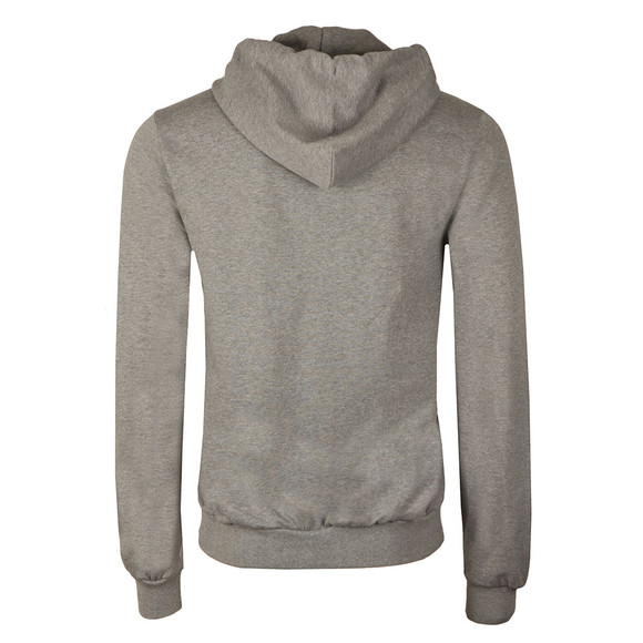 Paul & Shark Mens Grey Full Zip Fleece Hoody main image
