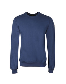 Paul & Shark Mens Blue Small Logo Sweatshirt