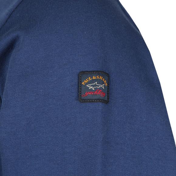 Paul & Shark Mens Blue Small Logo Sweatshirt main image