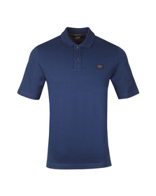 Paul & Shark Mens Blue Organic Cotton Polo Shirt