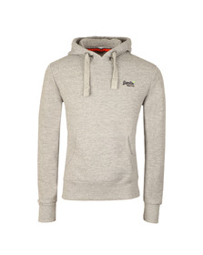 Superdry Mens Grey Orange Label Hood
