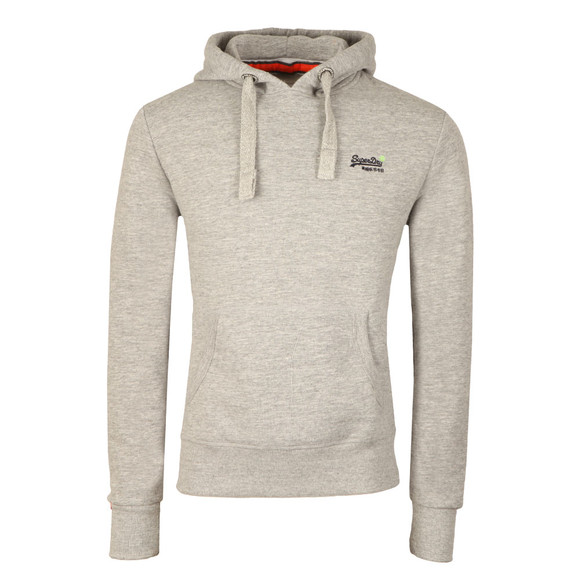 Superdry Mens Grey Orange Label Hood main image