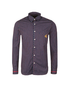 Vivienne Westwood Anglomania Mens Red Classic Stripe Shirt