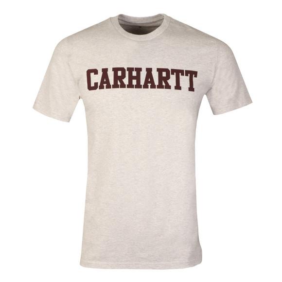 Carhartt Mens Grey Carhartt College Crew Tee main image
