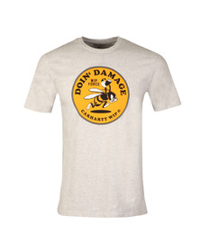 Carhartt Mens Brown WIP Force T Shirt
