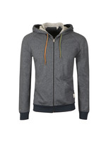 Loop Back Zip Hood
