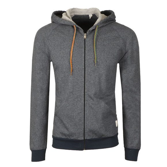 Paul Smith Mens Blue Loop Back Zip Hood main image