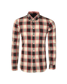 PS Paul Smith Mens Blue L/S Check Shirt
