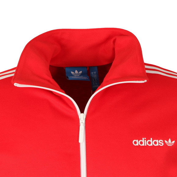 Adidas Originals Mens Red Beckenbauer Track Jacket main image