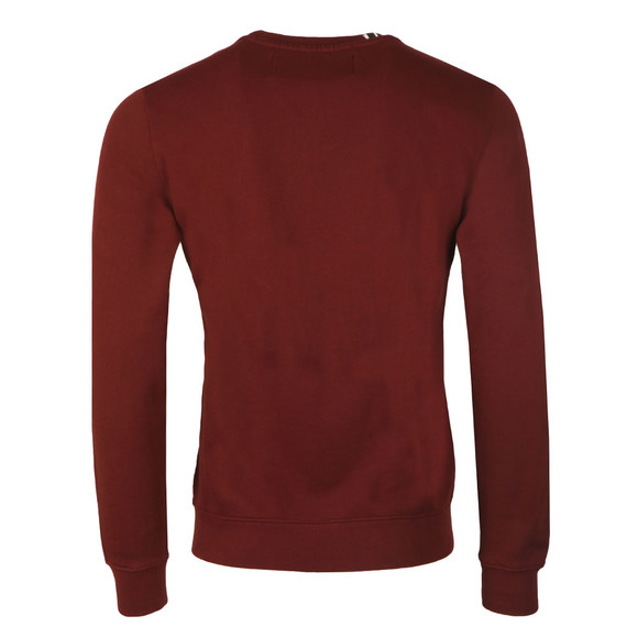 Replay Mens Red Logo Sweat main image