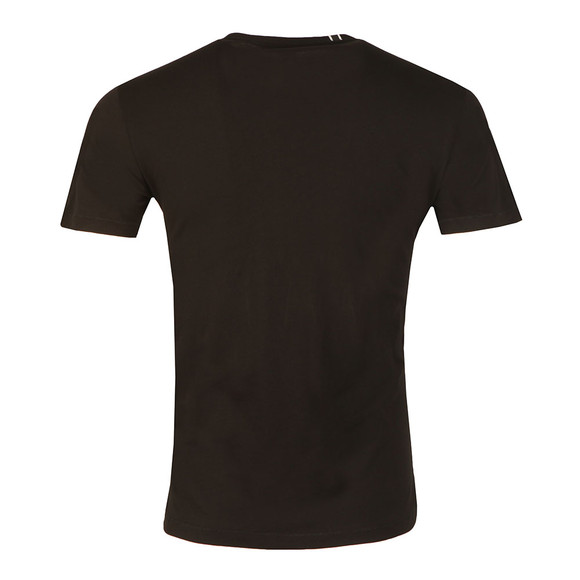Replay Mens Black S/S Monkey Helmet Tee main image