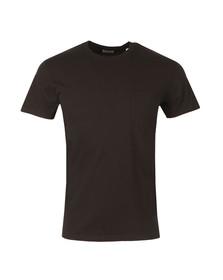 Edwin Mens Black Pocket T Shirt