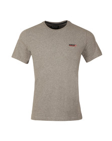 Barbour International Mens Grey S/S Indicator Tee