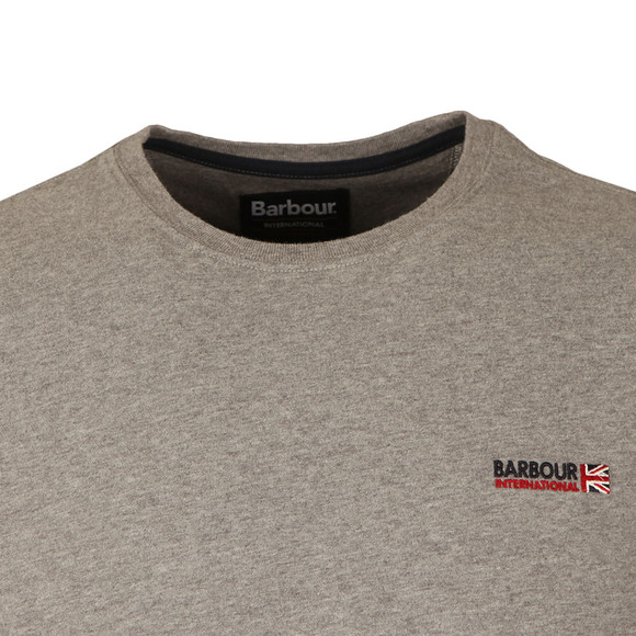 Barbour International Mens Grey S/S Indicator Tee main image