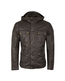 Belstaff Mens Blue Ravenswood Wax Jacket